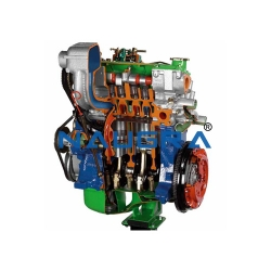 Diesel Engines Cutaway