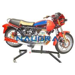 Motorcycle Engines Cutaway