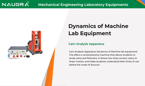 Mechanical Engineering Lab Equipments Video