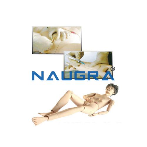 Elderly Fully-Functional Nursing Manikin