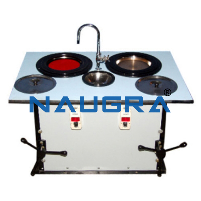Naugra Double Disc Polishing Machine Floor Model