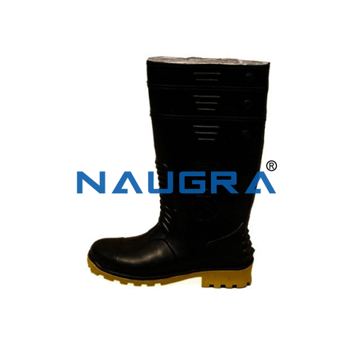 Polyvinyl Chloride (PVC) Sole Gum Boot With Steel Toe