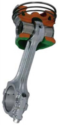 Direct Injection Piston Cutaway