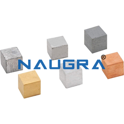 Density Cubes for Aluminium