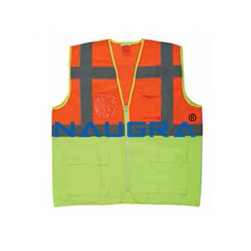 Reflective Jacket Multi Colour Vest