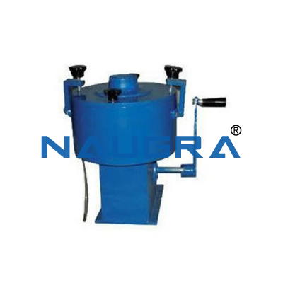 Bitumen/Centrifuge Extractor - Hand Operated
