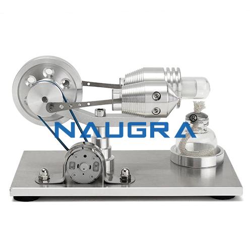 Educational Lab Gas Engine Model 4 Stroke