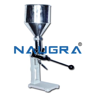 Naugra Lab Collapsible Tube Ointment Filling Machine