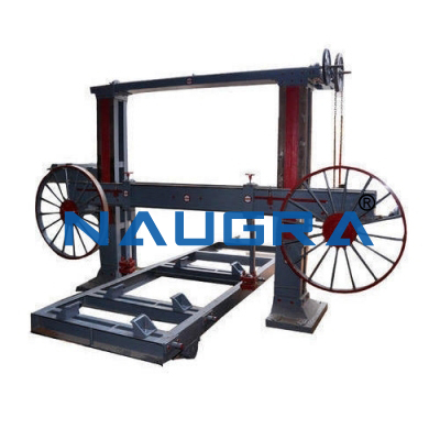 Trolley Type Horizontal Bandsaw Machine