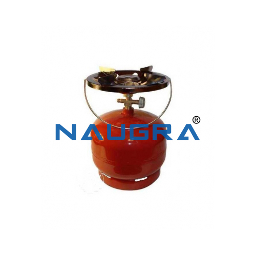 Educational Lab Gas Cylinder with Burner