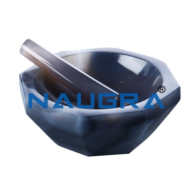 Mortar and Pestle Agate