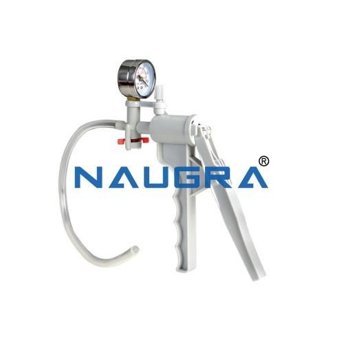 Educational Lab Hand Vacuum Pump