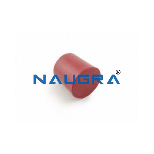 School Lab Solid Rubber Stopper