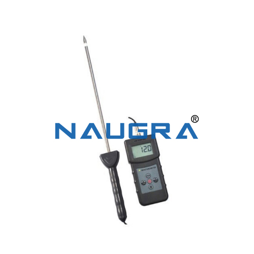 Educational Lab Moisture Meter, Portable