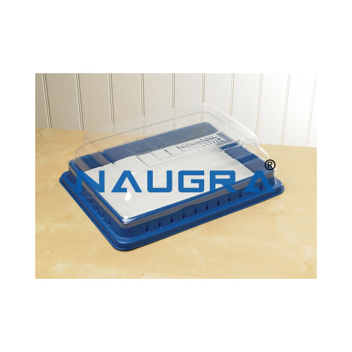 Biology Lab Dissection Pan, Pad and Cover Large