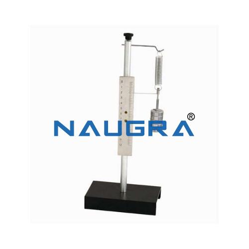 Educational Lab Hooke Law Apparatus