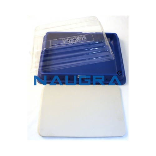 Biology Lab Dissection Pan, Pad and Cover Small