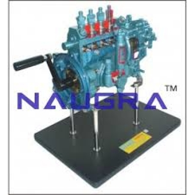 Fuel Supply System Of A Diesel Engine Automobile Engineering Model and Training System