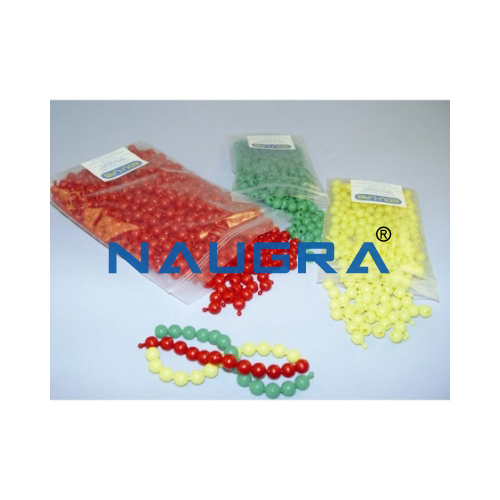 Biology Lab Poppit Beads Red