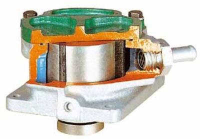 Vane Pump Cutaway