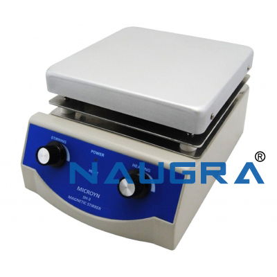 Naugra Lab Magnetic Stirrer with Hot Plate