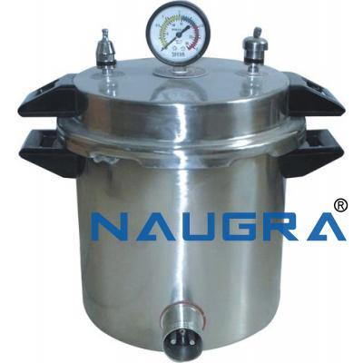 Naugra Lab Portable Autoclave