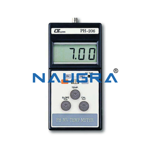 Educational Lab PH-MV Temp. Meter