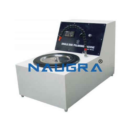 Naugra Single Disc Polishing Machine with controller