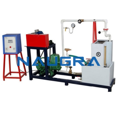 RECIPROCATING PUMP TEST RIG- 1HP