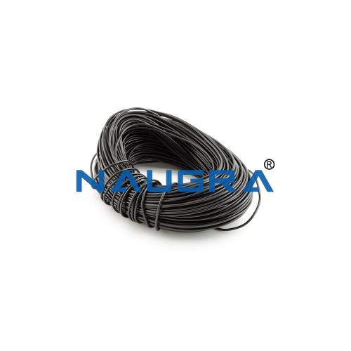 School Lab Black Single Strand Panel Wire