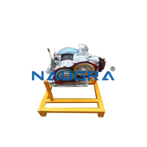 Cut Section Steering Gear Box Model