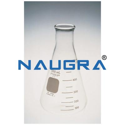Flasks, Conical Erlenmeyer, Standard Wall