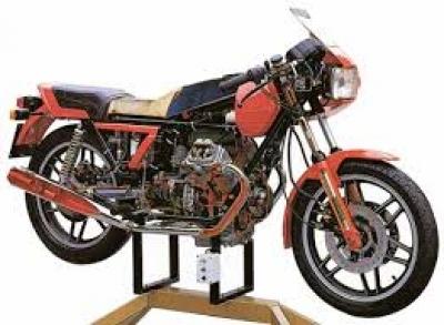 Motorcycle Cutaway