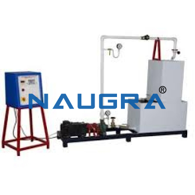 CENTRIFUGAL PUMP TEST RIG- 1HP
