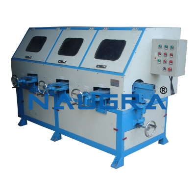 Centreless Type Buffing & Polishing Machine