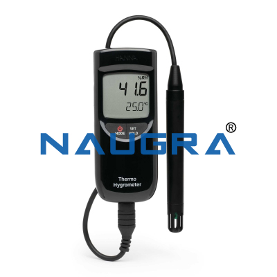 Portable Electronic Thermo-Hygrometer