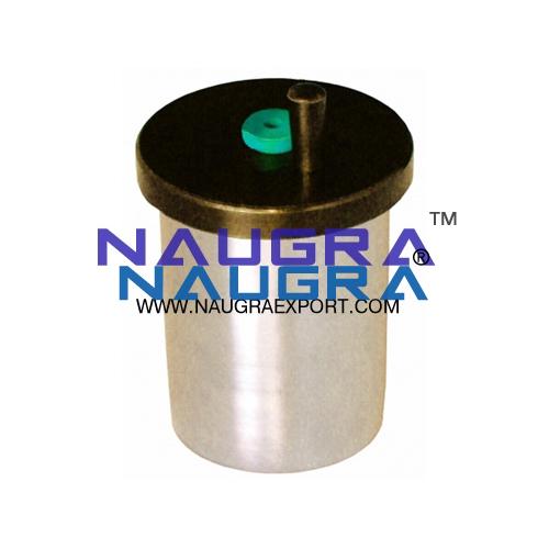 Educational Lab Lid for Copper Calorimeter