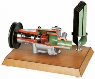 Electrical Fuel Pump Cutaway