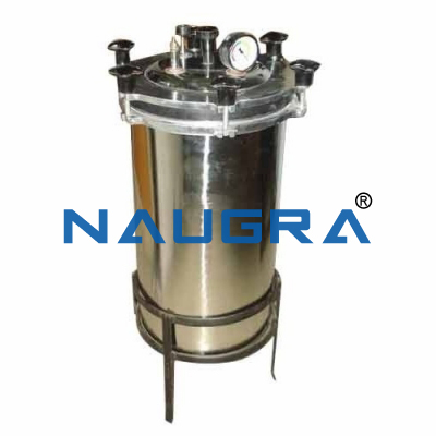 Naugra Lab Autoclave Laboratory Portable