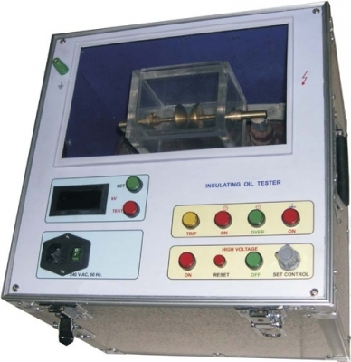 Insulating Oil Tester Semi Automatic