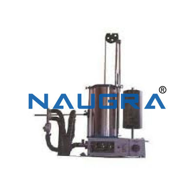 Naugra Lab Benedict Roth Recording Spirometer