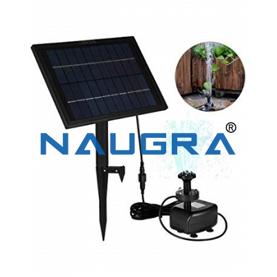 Water Pump Application (Operated By Solar System)