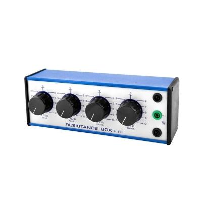 Decade Resistance Box 4 Dials