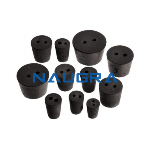 Rubber Stopper (2 Hole)