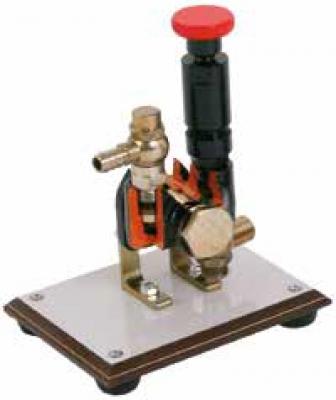 Piston Pump Cutaway