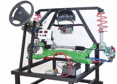 Steering and Suspensions Cutaway for Automotive Lab