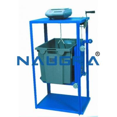 Hydrostatic Weighing Frame