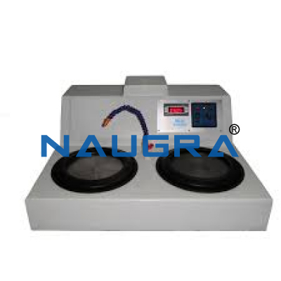 Naugra Table Top Double Disk Variable Speed Metallurgical Polisher/Grinder