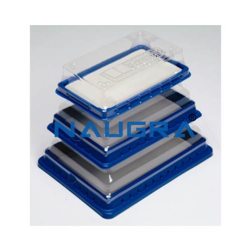 Biology Lab Dissection Pan, Pad and Cover Medium (Set-15)