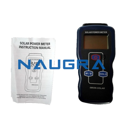 Solar Radiation Intensity Measurement Device